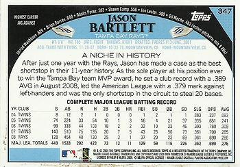 Topps Jason Bartlett