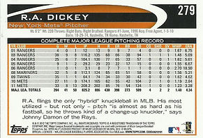 Topps R.A. Dickey