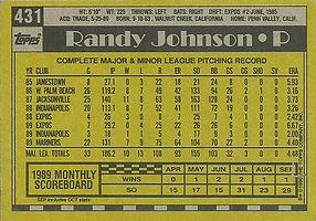 Topps Randy Johnson