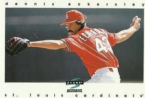 Score Dennis Eckersley