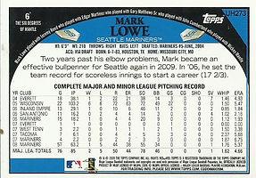 Topps Mark Lowe