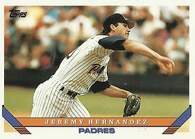 Topps Jeremy Hernandez