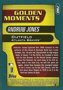 Topps Andruw Jones