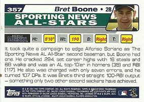 Topps Bret Boone