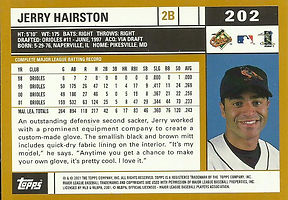 Topps Jerry Hairston, Jr.