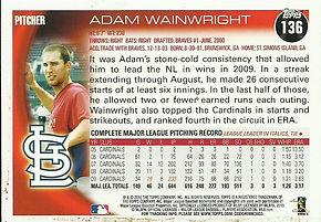 Adam Wainwright Topps