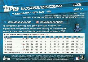 Topps Alcides Escobar
