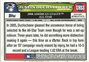 Topps Justin Duchscherer
