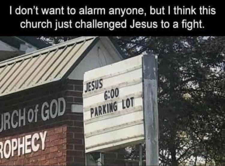 This seems harsh. Did the pastor's wife screw the handyman or something?