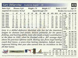 Score Gary Disarcina