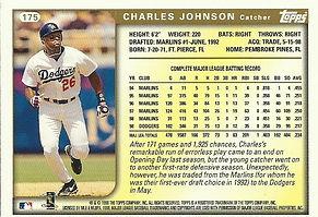 Topps Charles Johnson