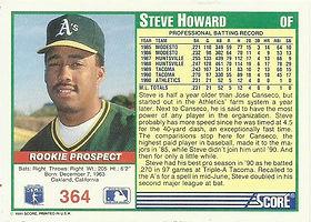 Score Steve Howard