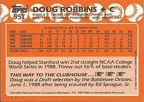 Topps Doug Robbins