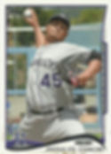 Topps Jhoulys Chacin