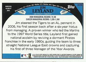 Topps Jim Leyland