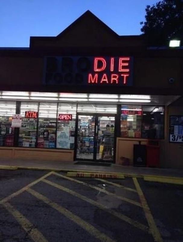 """""""Grandpa, the nursing home is getting too expensive. We're goin' to Die Mart."""""""