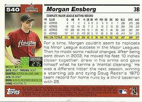 Topps Morgan Ensberg