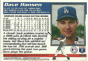 Topps Dave Hansen