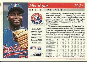 Score Mel Rojas