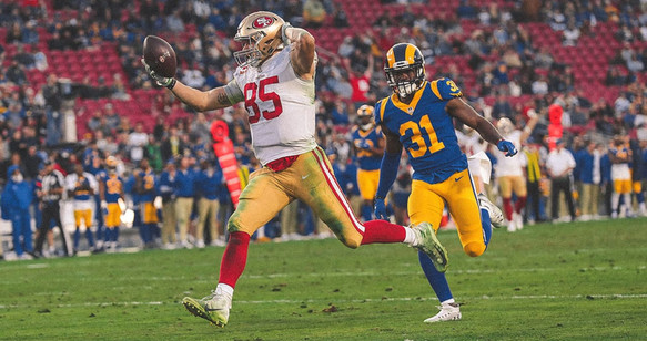 2. George Kittle's Record