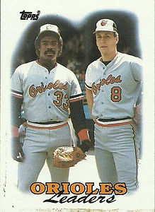Topps Oriole Leaders