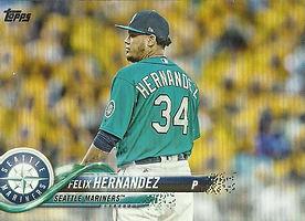 Topps Felix Hernandez