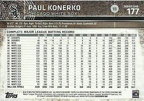 Topps Paul Konerko
