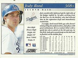 Score Jody Reed