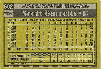 Topps Scott Garrelts