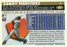 Topps Sandy Martinez