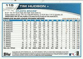 Topps Tim Hudson