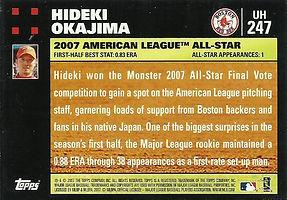 Topps Hideki Okajima