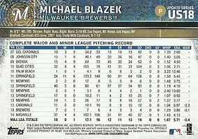 Topps Michael Blazek