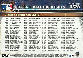 Topps Checklists/Highlights