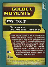 Topps Kirk Gibson