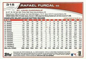 Topps Rafael Furcal