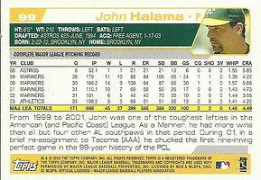 Topps John Halama
