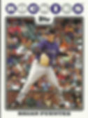 Topps Brian Fuentes