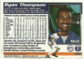 Topps Ryan Thompson