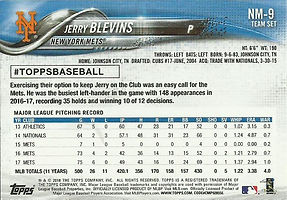 Topps Jerry Blevins