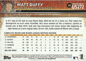 Topps Matt Duffy