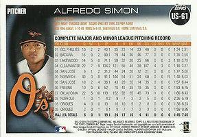 Topps Alfredo Simon