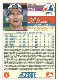 Score Casey Candaele