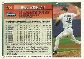 Topps Bill Wegman