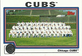 Topps Chicago Cubs