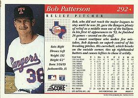 Score Bob Patterson