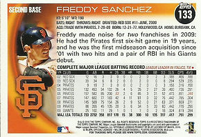 Topps Freddy Sanchez