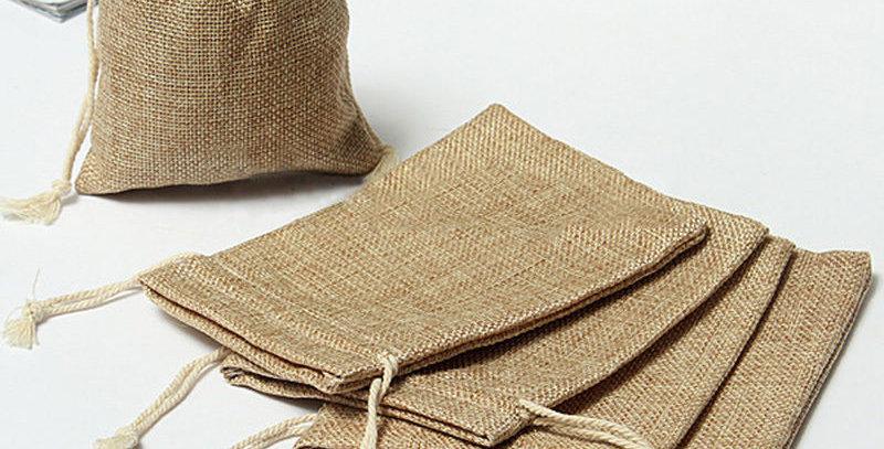 Vászon zsákok csomag - 10 db