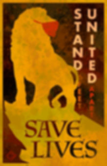 Lion Stand Strong Save Lives Poster2 cop