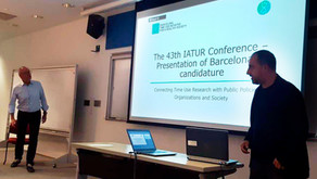 Barcelona has been selected to host IATUR's anual conference on Autumm 2021